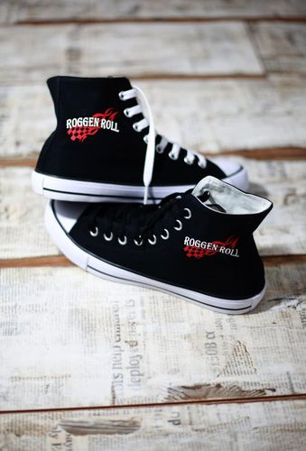 Roggen Roll Chucks BLACK