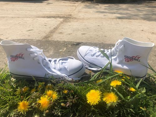 Roggen Roll Chucks WHITE